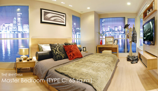 Rhythm Ratchada - Huai Khwang apartment for rent in Bangkok</strong> | 700 m. to Asoke BTS and Sukhumvit MRT