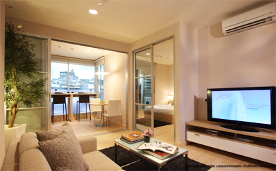 Rhythm Ratchada condo for rent in Bangkok</strong>