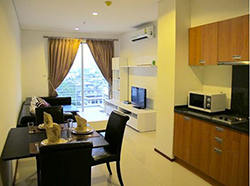 1 bedroom condo for rent at Villa Sathorn