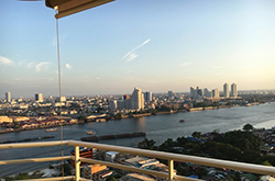 Watermark Chaophraya Bangkok <strong>apartment with river view for rent in Charoen Nakorn</strong>
