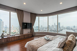 Menam Residences <strong>flat condo for rent in Bangkok</strong>