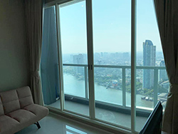 Menam Residences <strong>flat apartment for rent in Charoenkrung, Bangkok</strong>